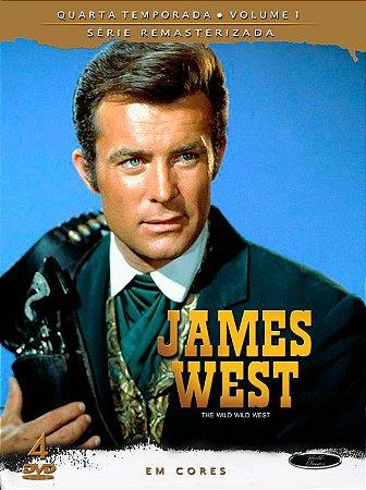 JAMES WEST – 4ª TEMPORADA – VOLUME 1 (1965/69)