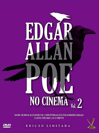 EDGAR ALLAN POE NO CINEMA Volume 2 – Edição Especial (Caixa com 02 DVDs)