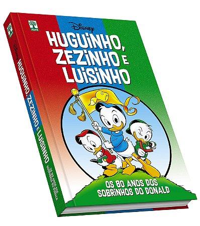 Livro Disney Huguinho, Zezinho e Luisinho