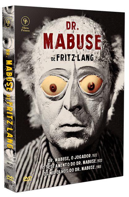 DR. MABUSE DE FRITZ LANG – DIGISTAK COM 4 DVD'S