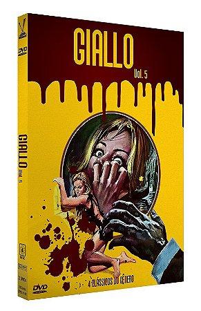 GIALLO - Volume 5 – Edição Limitada com 4 Cards (2 DVDs)