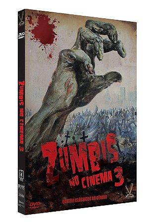 ZUMBIS NO CINEMA - Volume 3 – Edição  Limitada com 4 Cards (Digistack com 2 DVDs)
