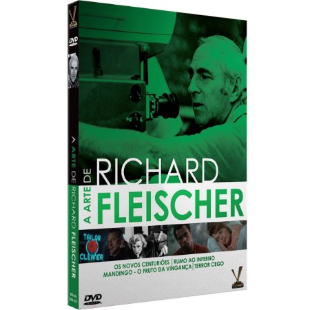 A ARTE DE RICHARD FLEISCHER – Edição Limitada com 4 Cards (Digistack com 2 DVDs)