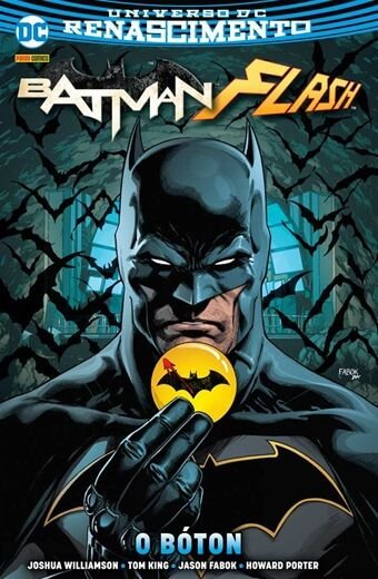 Batman Flash- o Bóton- Capa Dura