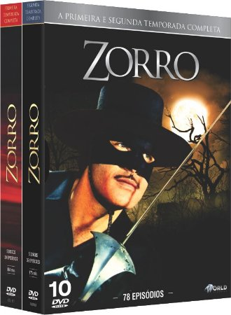 ZORRO - A Primeira e Segunda Temporada Completa