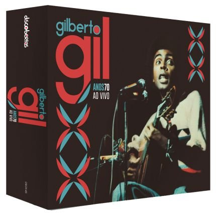 Box de Cd Gilberto Gil-Anos 70