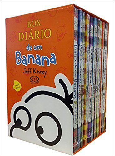 Box Diário de um Banana- 1 ao 10