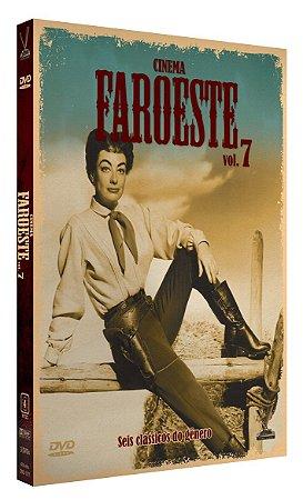CINEMA FAROESTE - Volume 7 - Edição Limitada com 6 Cards (Digistack com 3 DVDs)