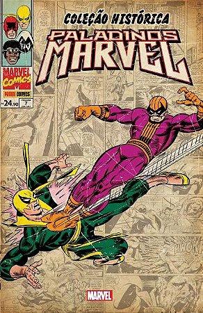 Coleção Histórica Paladinos Marvel Vol. 7