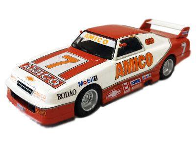Miniatura Chevrolet Opala-Wilson Fittipaldi Júnior-Stock Car nº 22- Escala 1/43
