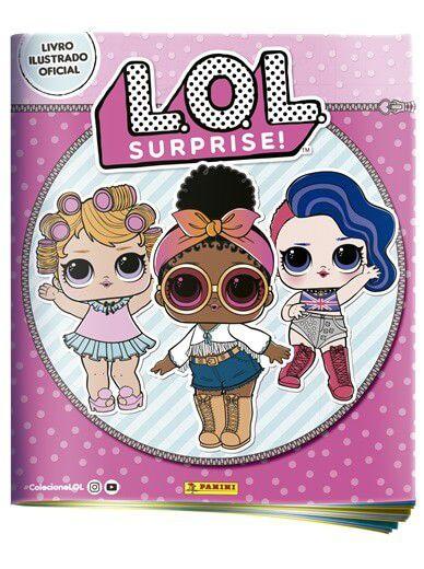 Álbum L.O.L Surprise + 20 Envelopes