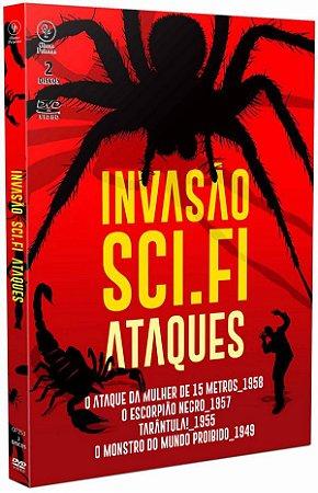 INVASÃO SCI-FI - ATAQUES (Digipak com 2 DVD's)