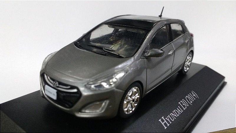 Miniatura Hyundai I30-Edição 132-Escala 1/43