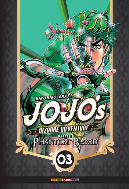 PRÉ-VENDA Jojo's Bizarre Adventure – Parte 1 – Phantom Blood Vol. 3