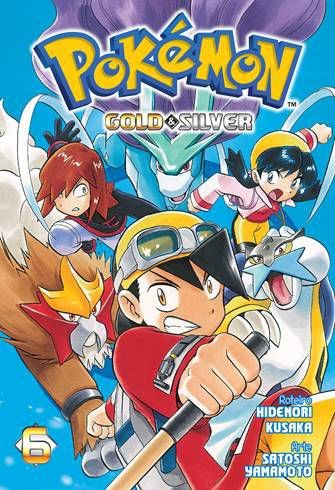 PRÉ-VENDA POKÉMON GOLD & SILVER VOL. 6