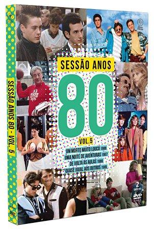 SESSÃO ANOS 80 VOL5 DIGIPAK COM 2 DVD's