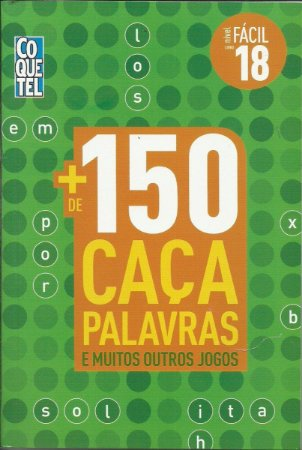 LIVRO + 150 CAÇA PALAVRAS- VOL. 18