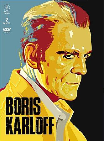 PRÉ-VEDA BORIS KARLOFF (DIGIPAK COM 2 DVD's)