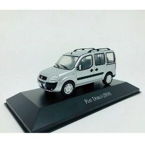Miniatura Fiat Doblò-2010-Ed. 141-Escala 1/43