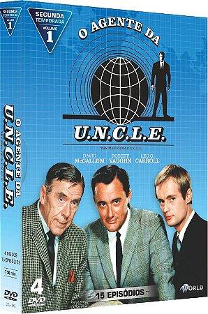 AGENTE DA UNCLE - Segunda Temporada - Vol. 1-ENTREGA 15/04/2019