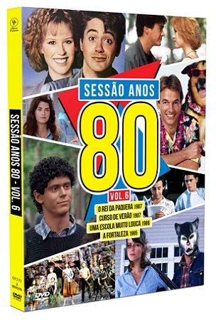 Sessão Anos 80 - Volume 06 - Digipak com 2 DVD's