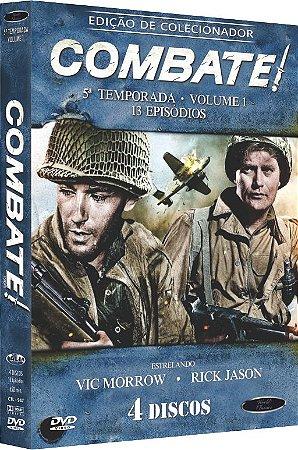 PRE-VENDA Combate - Quinta Temporada - Volume 1 DVD