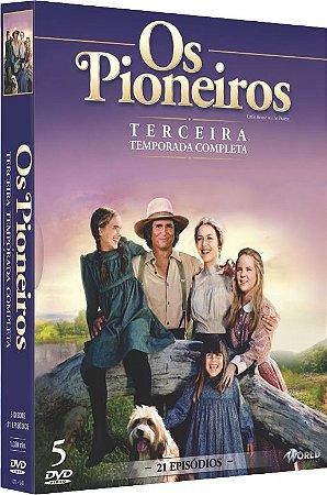 PRE VENDA OS PIONEIROS 3 TEMPORADA DVD