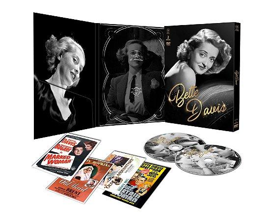 Bette Davis - Digipak com 2 DVD's