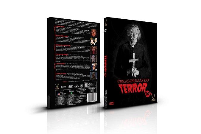 OBRAS-PRIMAS DO TEROR vol. 10 – ED. LIMITADA COM 6 CARDs (Caixa com 03 DVDs)