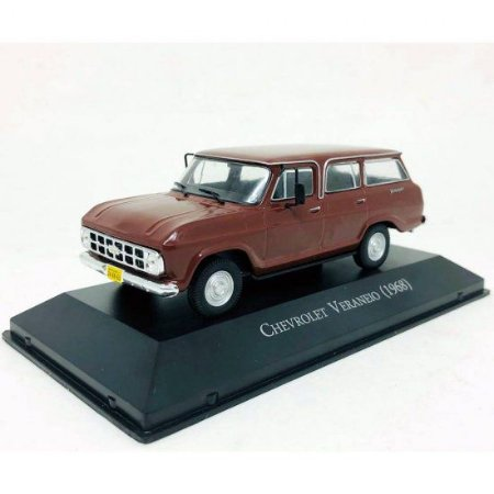 Chevrolet Veraneio (1968) - Ed. 145 - Carros Inesquecíveis do Brasil