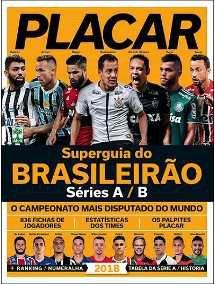 PLACAR - GUIA DO BRASILEIRÃO SERIE A/B 2019