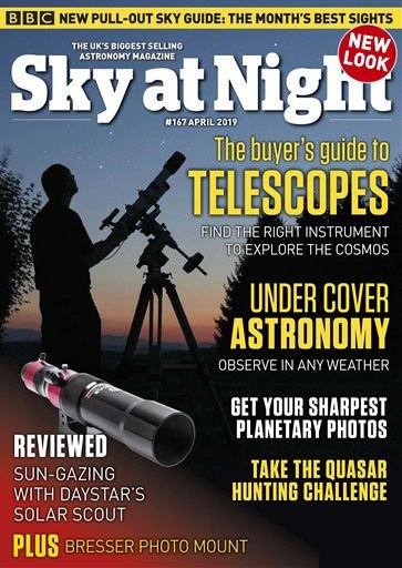 SKY AT NIGHT APRIL 2019 ISSUE