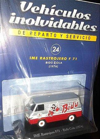 Miniatura IME Rastrojero F71- Bidú Cola - Vehículos inolvidables - Ed. 24