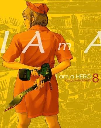 PRÉ-VENDA I AM A HERO VOL. 08