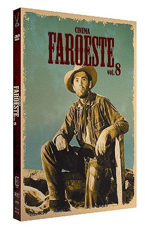CINEMA FAROESTE vol. 8 - ED. LIMITADA COM 6 CARDs  (Caixa com 03 DVDs)