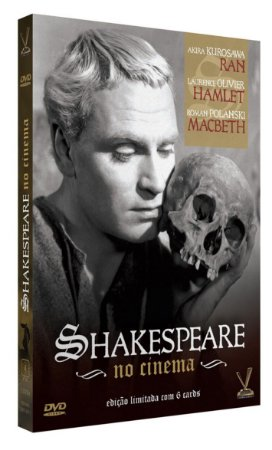 SHAKESPEARE NO CINEMA - ED. LIMITADA COM 6 CARDs (Caixa com 03 DVDs)