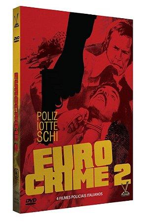EUROCRIME - O FILME POLICIAL ITALIANO vol. 2 - ED. LIMITADA COM 4 CARDs (Caixa com 02 DVDs)