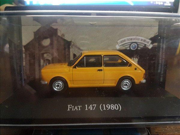 Carros Inesquecíveis Do Brasil Nº 148 - Fiat 147 (1980)