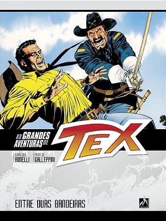 As grandes aventuras de Tex - Volume 2 - Entre duas bandeiras
