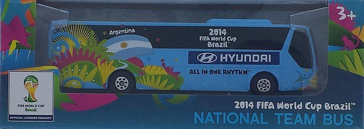 NATIONAL TEAM BUS 2014 FIFA WORLD CUP BRAZIL-ARGENTINA