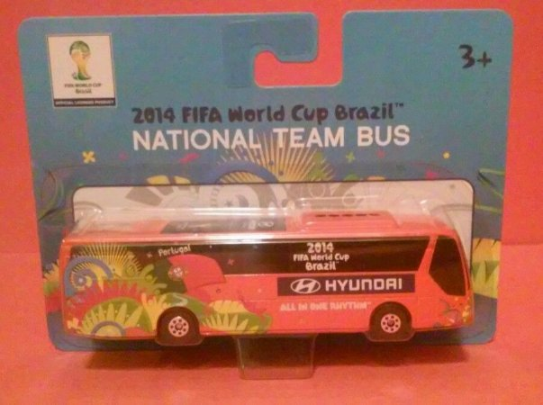 NATIONAL TEAM BUS 2014 FIFA WORLD CUP BRAZIL-PORTUGAL