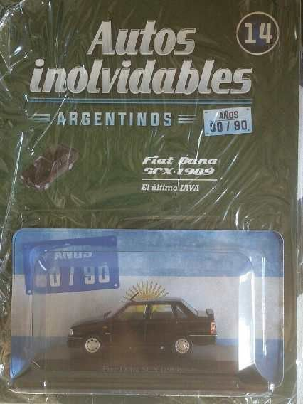 COLECIONÁVEL FIAT DUNA SCX (1989) COM FASCÍCULO