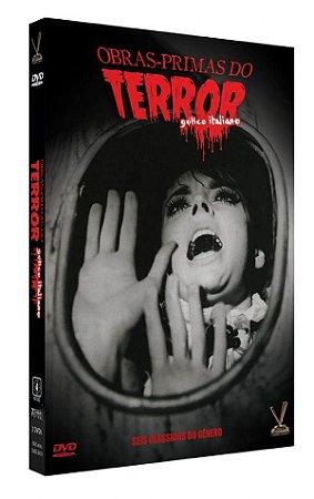 OBRAS-PRIMAS DO TERROR: GÓTICO ITALIANO  EDIÇÃO LIMITADA COM 6 CARDs  (Caixa com 03 DVDs)