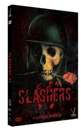 SLASHERS vol. 6  ED. LIMITADA COM 4 CARDs  (Caixa com 02 DVDs)