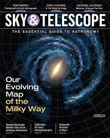 SKY & TELESCOPE DE NOVEMBRO DE 2019