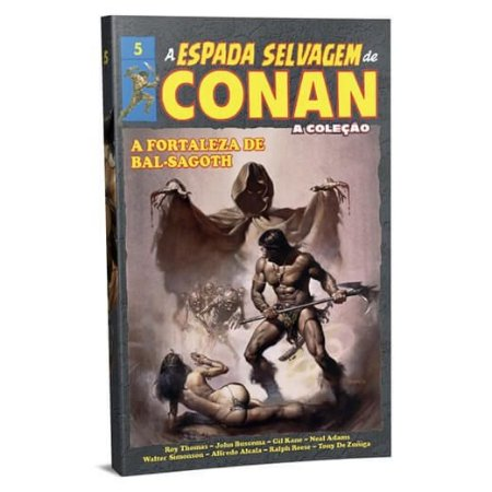 A ESPADA SELVAGEM DE CONAN VOL 5