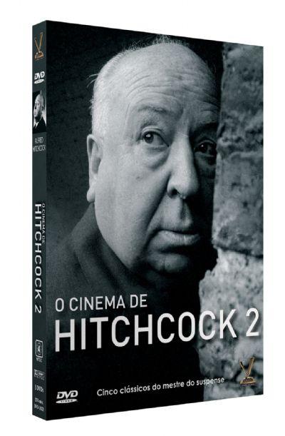 O CINEMA DE HITCHCOCK vol. 2  EDIÇÃO LIMITADA COM 6 CARDs  (Caixa com 03 DVDs)