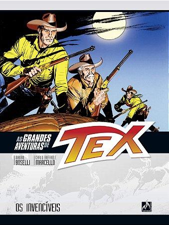 AS GRANDES AVENTURAS DE TEX VOL. 4