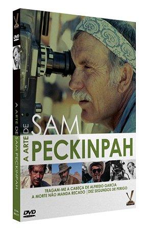 A ARTE DE SAM PECKINPAH  EDIÇÃO LIMITADA COM 4 CARDs  (Caixa com 02 DVDs)