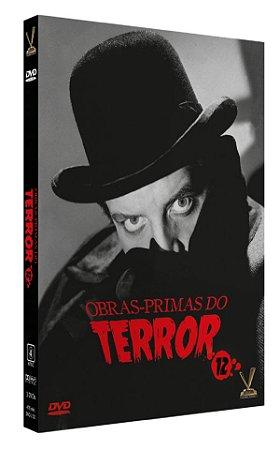 OBRAS-PRIMAS DO TERROR vol. 12  EDIÇÃO LIMITADA COM 6 CARDs  (Caixa com 03 DVDs)